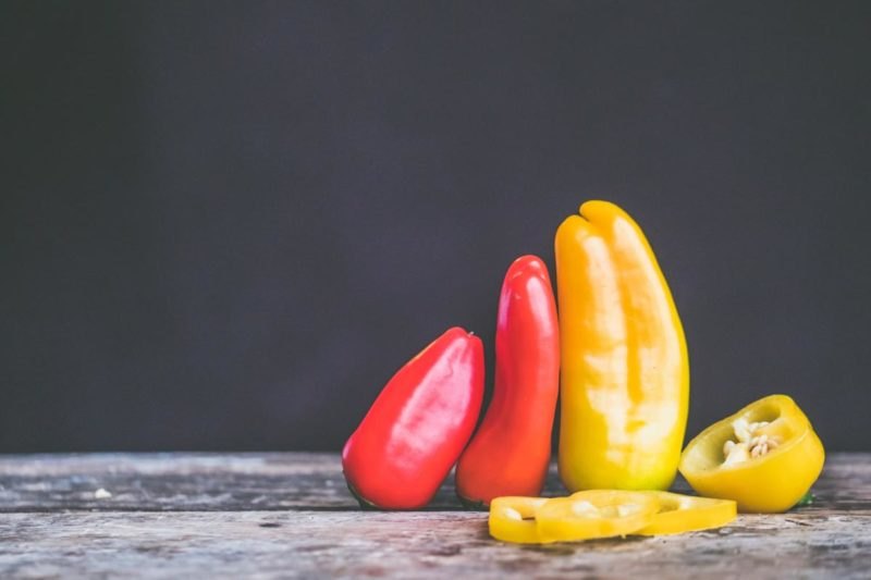 Vitamin C: Bell peppers