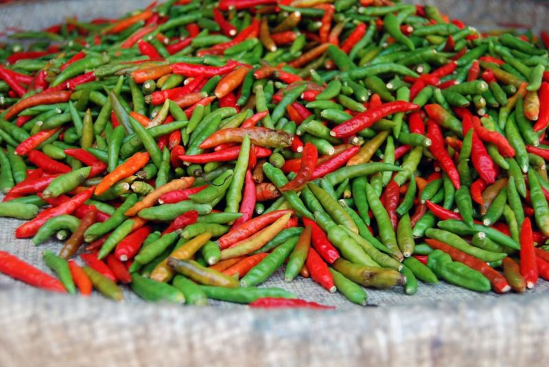 Vitamin C: Red (and Green) Hot Chilli Peppers