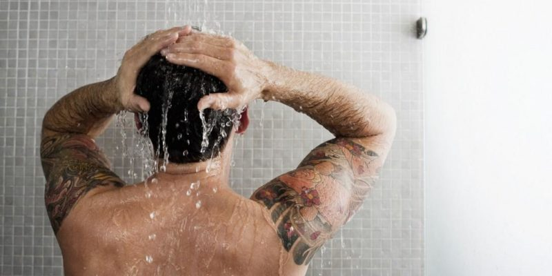 Men's Rough Skin: Wash wisely