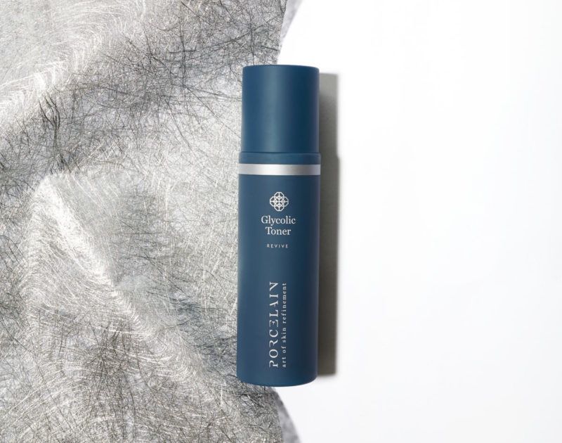 Fixing Dull Skin: The Glycolic Toner gently exfoliates dead skin cells for a clear, radiant complexion