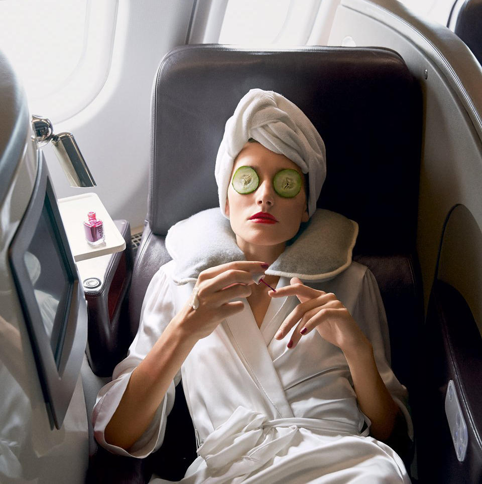 Skincare for a Long Flight