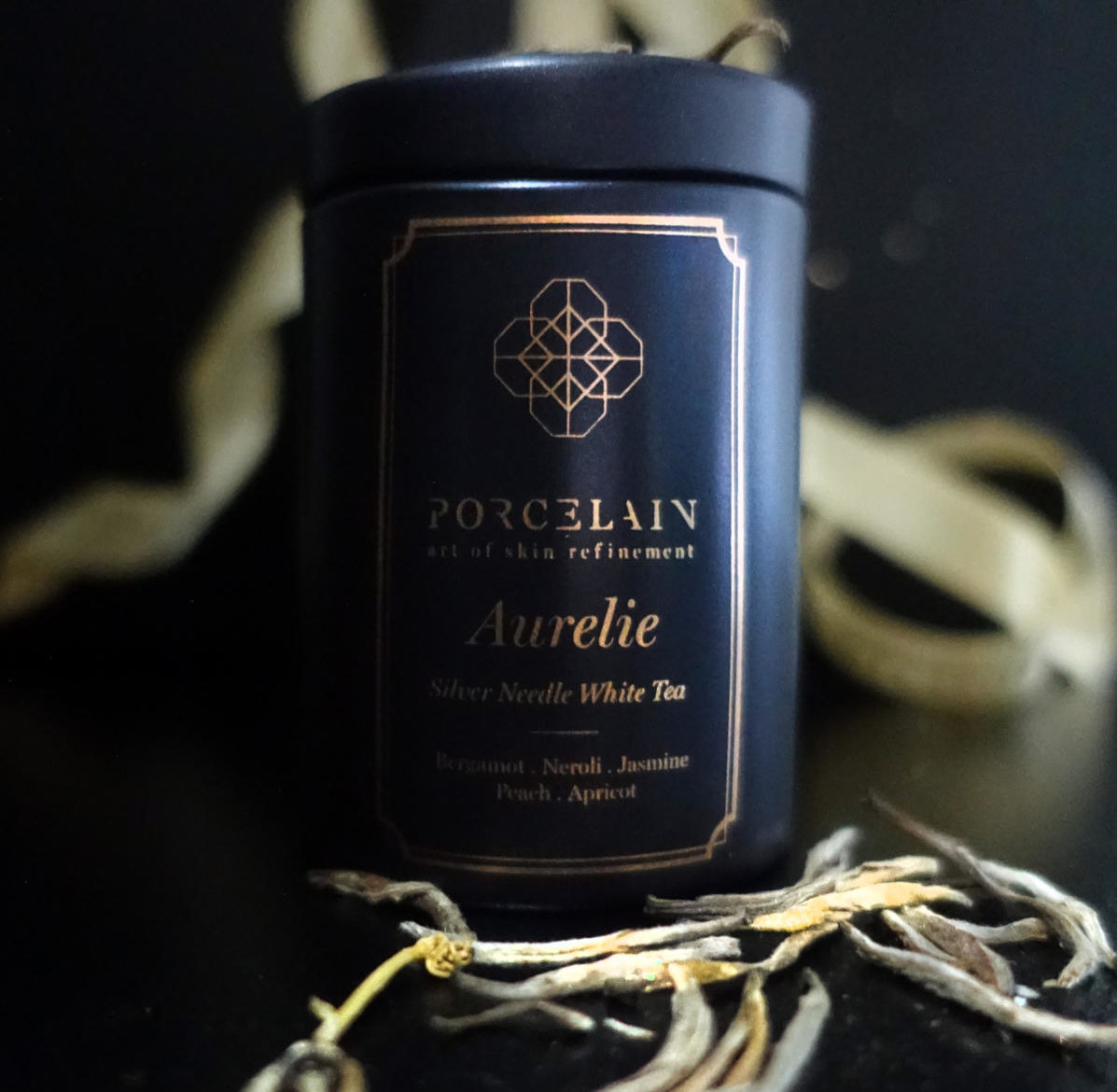 Brewing Aurelie, A Silver Needle White Tea Cold